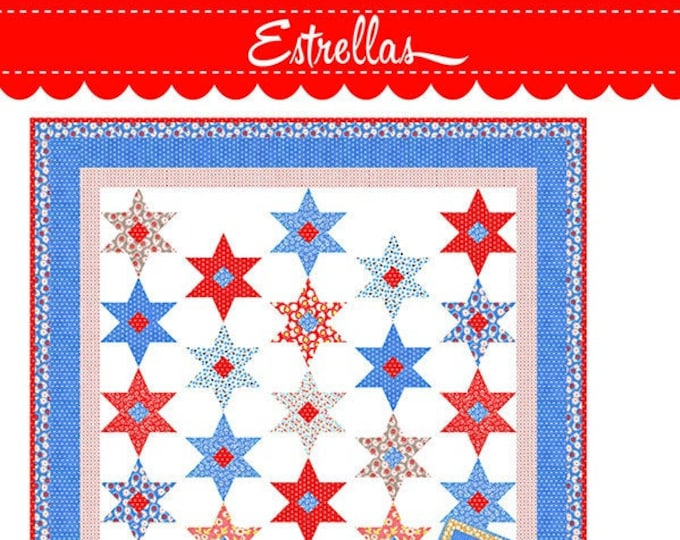 Estrellas Quilt Pattern by Fig Tree & Co