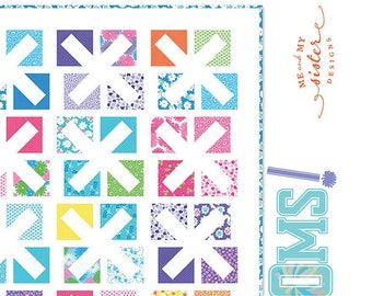 Pom Poms Quilt Pattern by Me & My Sister Designs