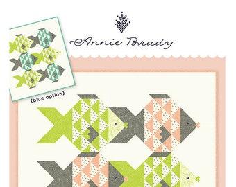 Fish Tales Quilt Pattern by Annie Brady
