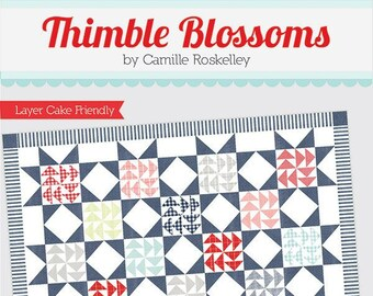 Dreamboat Quilt Pattern by Camille Roskelley for Thimble Blossoms