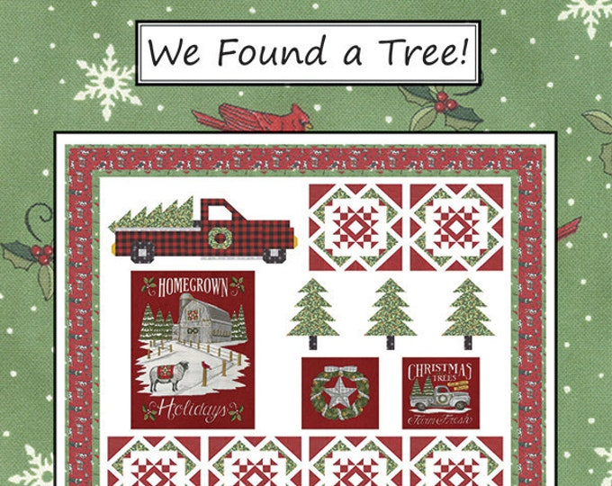 We Found A Tree Quilt Pattern by Coach House Designs