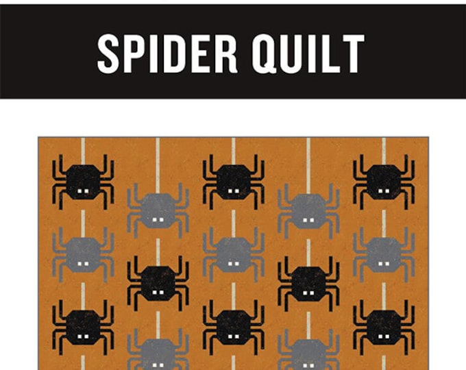 Spider Quilt Pattern by Pen + Paper Patterns