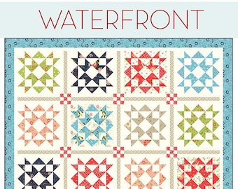 Waterfront Quilt Pattern by Sherri McConnell for A Quilting Life Designs