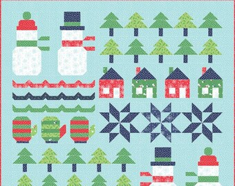 Snow Day Quilt Kit by Stacy Iest Hsu for Moda