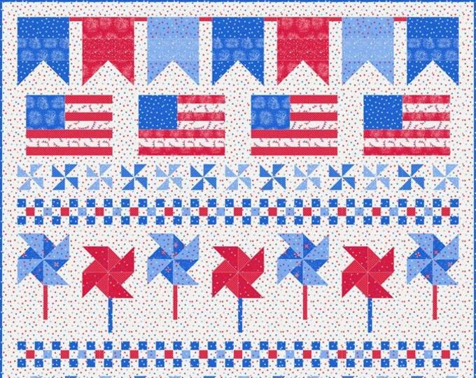 Americana Quilt Kit by Stacy Iest Hsu for Moda