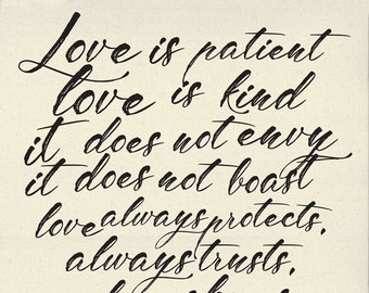 Printworks Love Is Patient Quilt Panel by Sweetwater for Moda