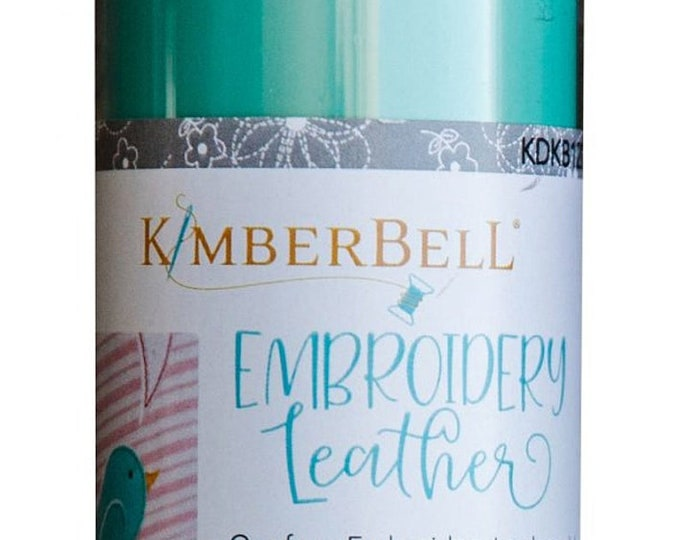 Kimberbell Embroidery Leather - Robin's Egg Blue