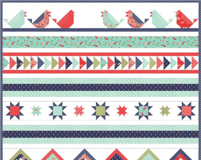 Song Bird Quilt Kit by Bonnie & Camille for Moda