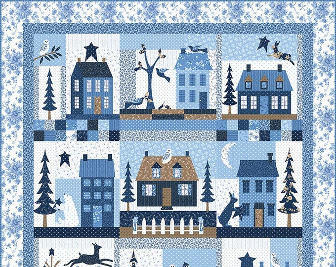 Crystal Lane Quilt Kit by Bunny Hill Designs for Moda