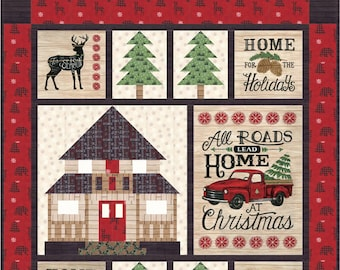 Holiday Lodge Quilt Kit by Deb Strain for Moda