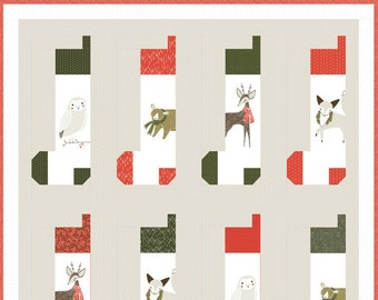 Merriment Quilt Kit by Gingiber for Moda