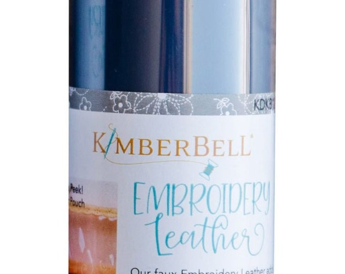 Kimberbell Embroidery Leather - Navy