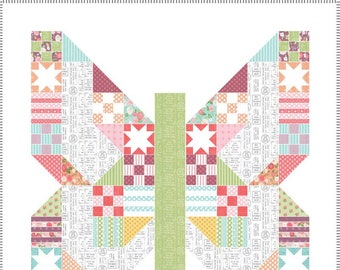Lollipop Garden Quilt Kit from Moda