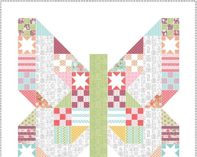 Lollipop Garden Quilt Kit from Moda