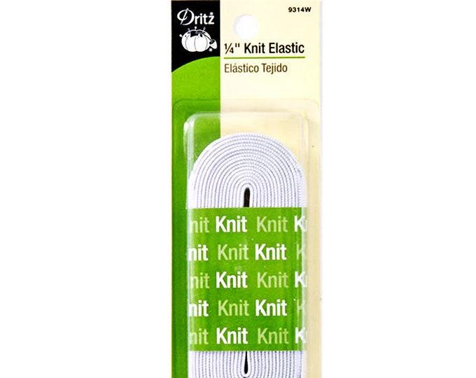 Dritz Knit Elastic 1/4inch x 3yards