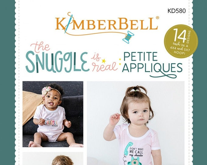 The Snuggle is Real: Petite Applique CD by Kimberbell