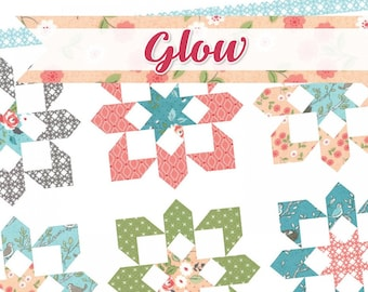 Glow Quilt Pattern by It's Sew Emma