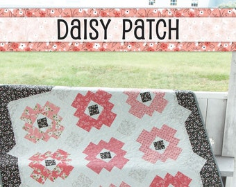 Daisy Patch Quilt Pattern by It's Sew Emma