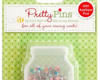 Pretty Pins by Lori Holt 250 Applique Pins
