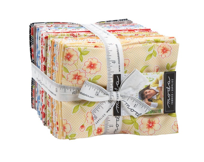 Figs and Shirtings Fat Quarter Bundle by Fig Tree & Co for Moda
