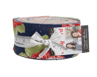 Early Bird Jelly Roll by Bonnie & Camille For Moda