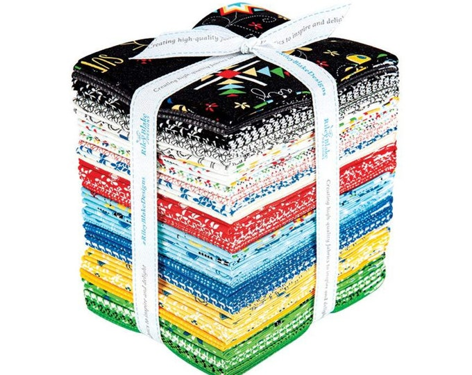 Oh Happy Day Fat Quarter Bundle by Sandy Gervais