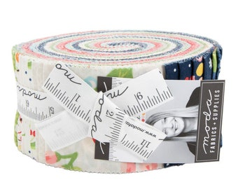 FREE SHIPPING Orchard Jelly Roll by April Rosenthal for Moda