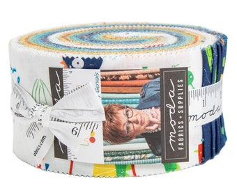 FREE SHIPPING Later Alligator Jelly Roll by Sandy Gervais for Moda
