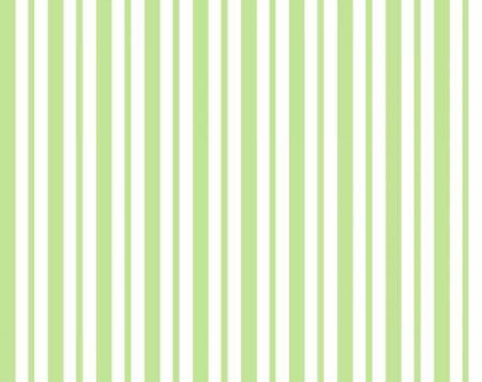 Kimberbell Basics Green Mini Awning Stripe