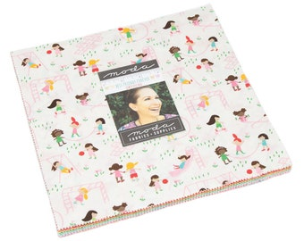 FREE SHIPPING Best Friends Forever Layer Cake by Stacy Iest Hsu for Moda