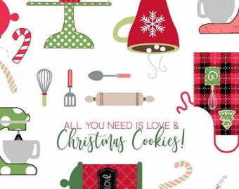 We Whisk You A Merry Christmas - Ultra White Christmas Baking by Kimberbell