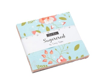 FREE SHIPPING Sugarcreek Charm Pack by Corey Yoder for Moda