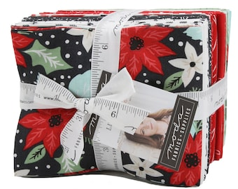 FREE SHIPPING Little Tree Fat Quarter Bundle by Lella Boutique for Moda
