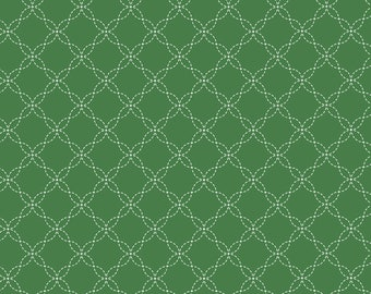 Kimberbell Basics Green Lattice