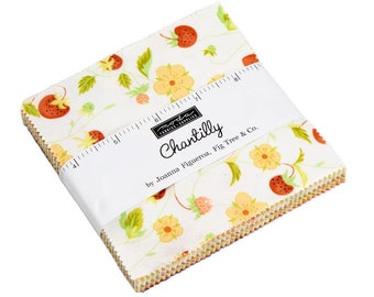 FREE SHIPPING Chantilly Charm Pack by Fig Tree & Co. for Moda