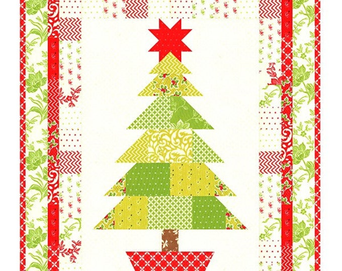 Oh Christmas Tree Quilt Pattern by Fig Tree & Co