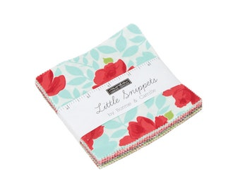 FREE SHIPPING Little Snippets Charm Pack by Bonnie & Camille for Moda