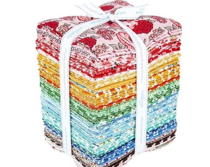 Flea Market Fat Quarter Bundle by Lori Holt for Riley Blake Designs