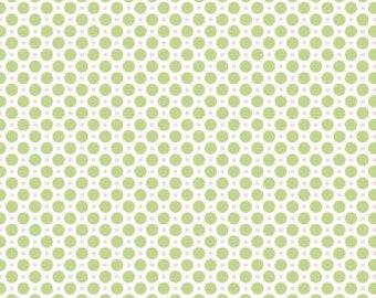 Sew Cherry 2 Circle Green by Lori Holt