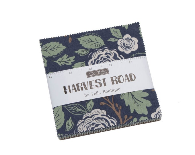 Harvest Road Charm Pack by Lella Boutique for Moda