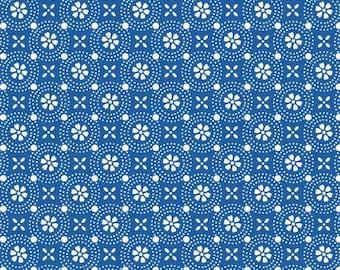 Kimberbell Basics Blue Dotted Circles