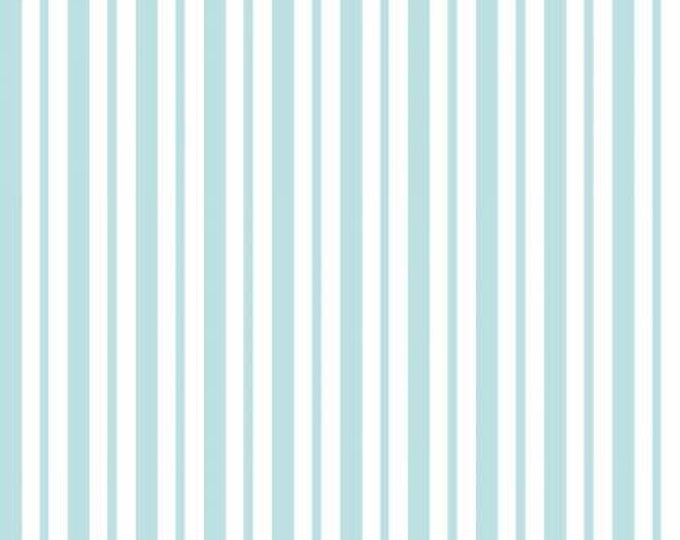 Kimberbell Basics Teal Mini Awning Stripe