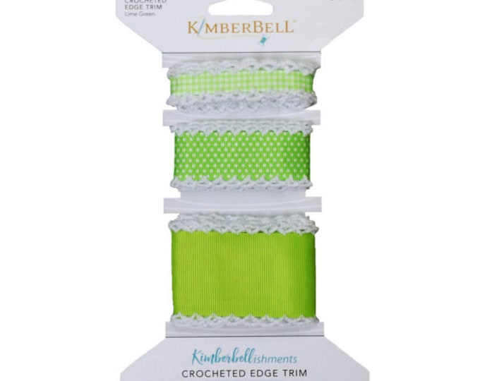 Crocheted Edge Trim - Green by Kimberbell