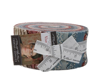 FREE SHIPPING Vive La France Jelly Roll by French General for Moda