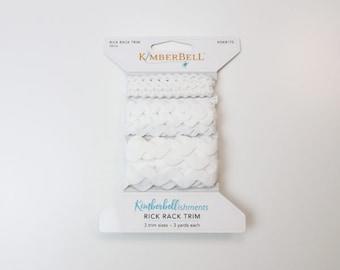 Rick Rack Trim - White by Kimberbell