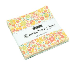Strawberry Jam Charm Pack by Corey Yoder for Moda