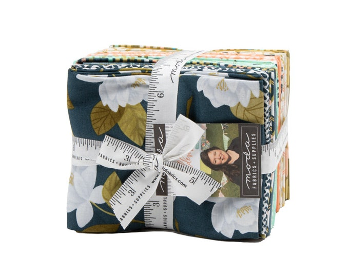 Goldenrod Fat Quarter Bundle by One Canoe Two for Moda