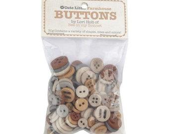 Cute Little Buttons - Farmhouse - by Lori Holt