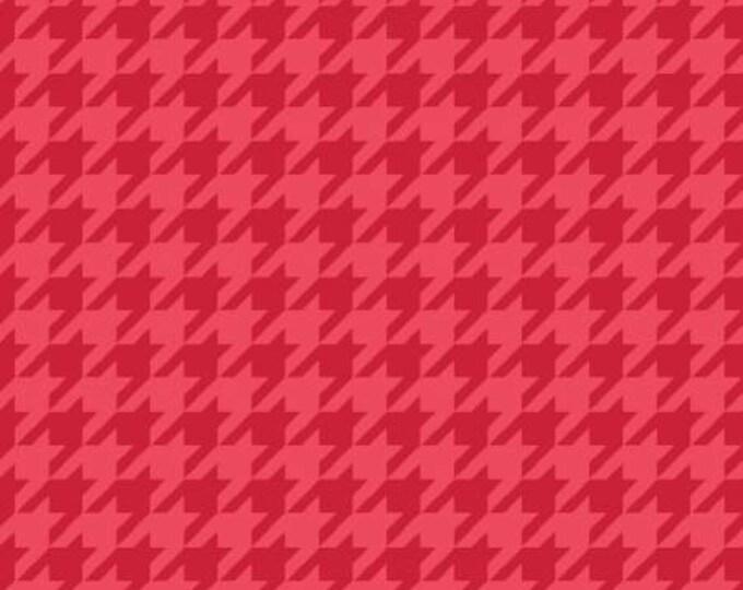 Kimberbell Basics Red Tonal Houndstooth