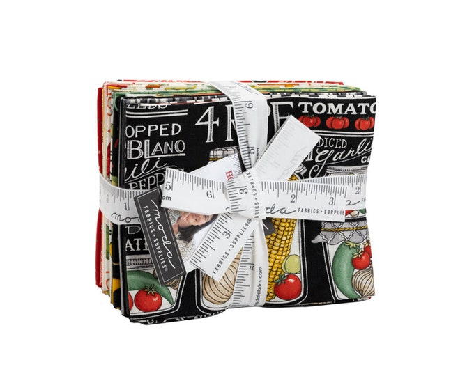 Homegrown Salsa Fat Quarter Bundle by Deb Strain for Moda